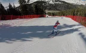 Swiss Alpine Ski Racer