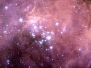 Panning over N11 in the Large Magellanic Cloud
