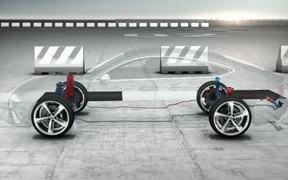 AUDI RS7 sportback dynamic ride
