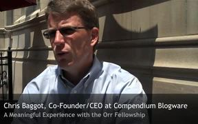 A Meaningful Experience with the Orr Fellowship