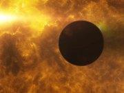HD 189733b transits its parent star during stellar