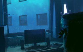 Underwater Light Unicorn
