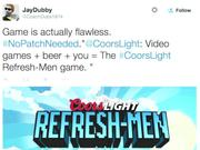 Coors Light Video Game