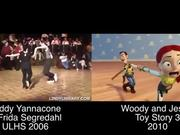 Toy Story 3's Woody and Jessie DanceShort