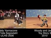 Toy Story 3's Woody and Jessie DanceShort