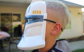 Storm Trooper's New Toy