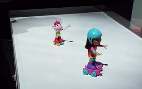 Spin & Skate Dora & Boots Hands-on at Toy Fair