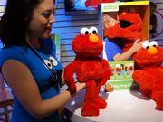Big Hugs Elmo Hands-on at Toy Fair