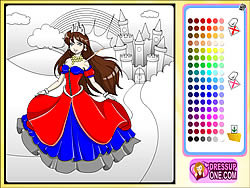 Castle Of Princess Coloring Game Game Play Online At Y8 Com