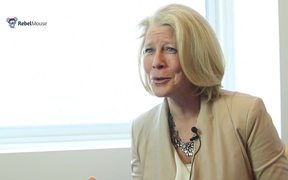 Linda Boff, GE, talks about RebelMouse