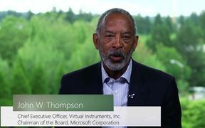 John W. Thompson, Chairman of Microsoft