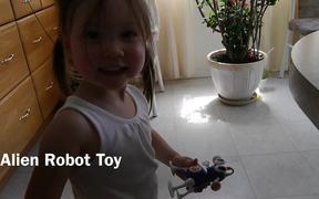 Alien Robot Toy