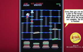 BurgerTime Video Game