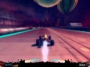 Futuristic Racing Game