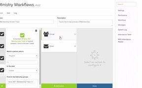 NEW from ShelbyNext - Ministry Workflows!