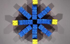 Micro Cubebot by David Weeks Studio
