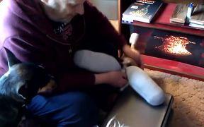 Gia and the Double-Stuffed Sock
