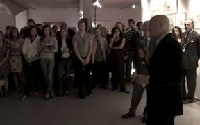 Opening of Norman Foster. Drawings 1958-2008