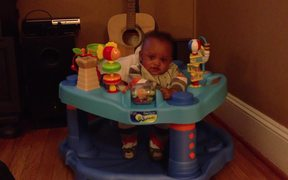 Tyler in Circle Toy