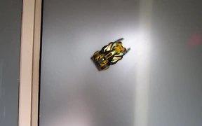 Air Hogs Zero Gravity Laser on Wall