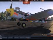 War Thunder -P40 RedBull Air Race