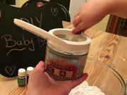 DIY - Non Toxic Baby Powder with Essential Oils