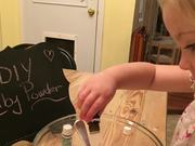 DIY - Non Toxic Baby Powder with Essential Oils