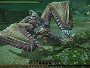 Monster Hunter Online - Purple Gypceros Combat