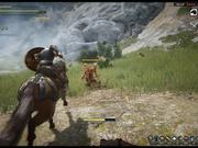 Black Desert - Mounted Combat Trailer