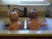 Babies Take a Bath
