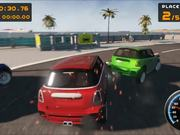OCEAN CITY RACING Race Mode Gameplay