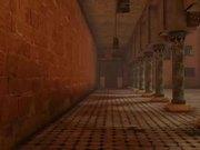 Video Game Set: Arabic Courtyard