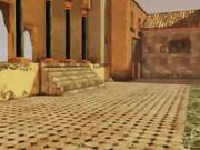 Video Game Set: Arabic Courtyard