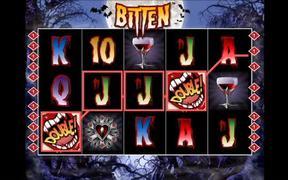 """""""Bitten"""" Online Slot Machine Demo"""