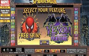 Spiderman Slot Video