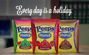 Peeps Campaign: Clean Off Your Desk Day