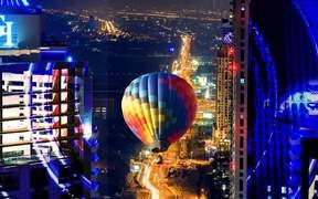 Sizzle-City Light Show - Dubai