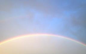 Double Rainbow in Las Vegas After Rain Store