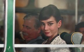 Galaxy Chocolate Commercial: Audrey Hepburn