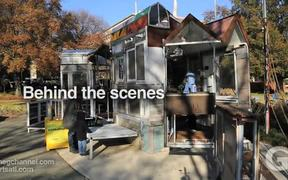 Behind the scenes with artist George Long