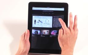 Luxurious Animals iPad/iPhone website