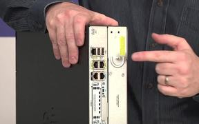 Demo of a Cisco network router