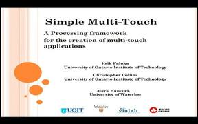 Simple Multi-Touch Toolkit for Processing