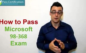 98-368 Exam Questions & Practice Test Software