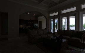 Custom Built Home on Palm Lake!