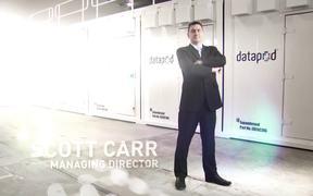 Modular Datapod Data Center Time Lapse Video