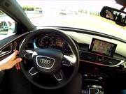 Test Driving the A6 Audi Quattro