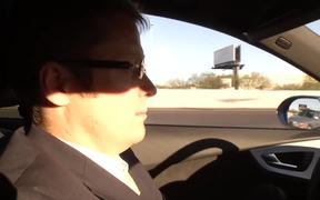 Test Driving the A6 Audi Quattro