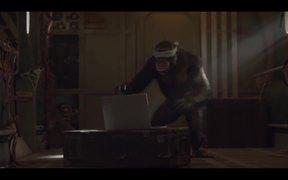 Bingle Commercial: Joni the Sky Diving Chimp