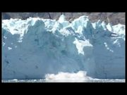 Glacier Bay National Park: Falling Ice!